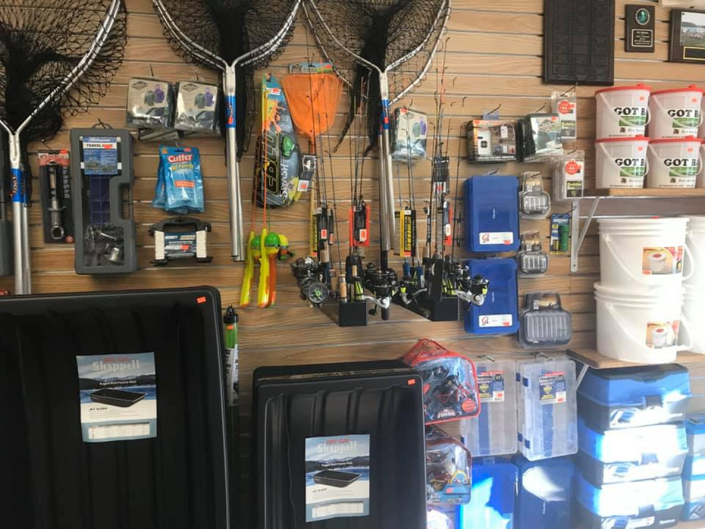 Our expansive bait shop
